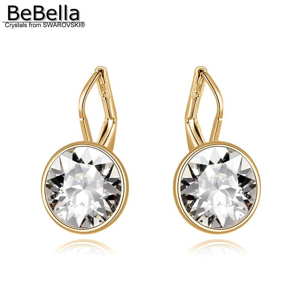 1282b56e09e Detail Feedback Questions about BeBella 1.2cm mini bella piercing drop  earrings Crystals from Swarovski gold color plated fashion jewelry for  women girls ...