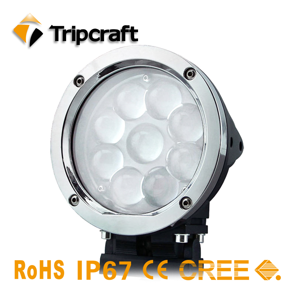 New Arrival 45W led work light Spot Flood Beam Tractor ATV Car Truck motorcycle Driving Round high power LED Driving Light 2014 new arrival 2pcs lot off road led work light car auto motorcycle 9w refit driving lamp ip67 spot beam round fog lamp