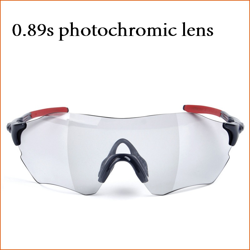0.89s Photochromic Driving Glasses Men Women Rimless Windproof Chameleon Sunglasses for Man High Quality Brand Discolor UV400 boxy x202 lb