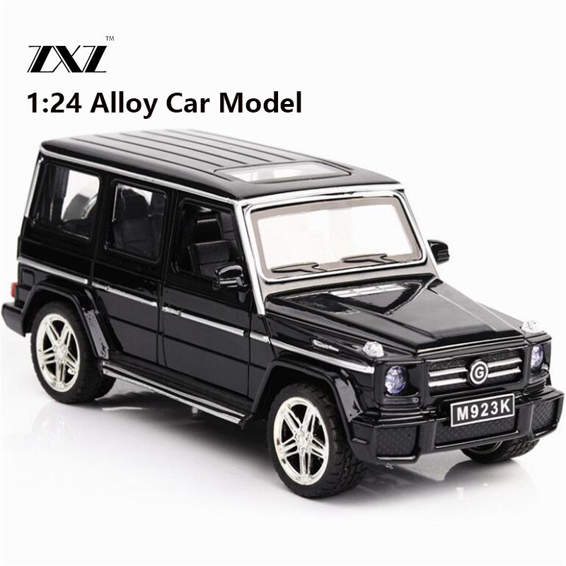 Hot 1:24 G65 Car Model Toy Car Model Free Shipping Diecasts & Toy Vehicle Model Metal Car For Collection Metal Toy boy