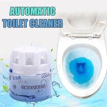 Уборщик туалета автоматический промывочный помощник синий пузырь очистки дезодорирует для ванной@ LS