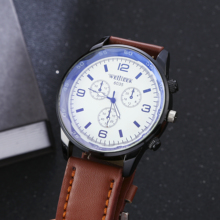 Simple fashion quartz male watch luxury belt elite business gift selection  mens reloj hombre 2018