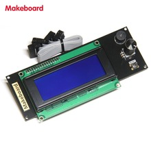 Micromake 3D Printer Parts Makeboard Smart Controller 3D Printer Display 2004 Smart Controller Compatible with Ramps