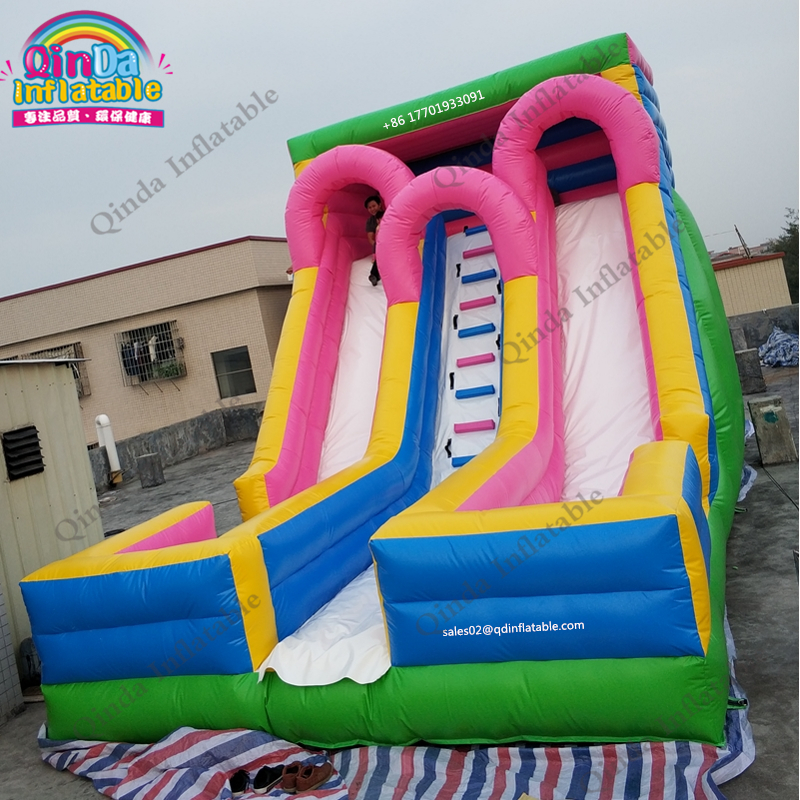 Kids Playgrounds Inflatables Slide Water Slides Bouncy Trampoline Dry Slide Can Ship By Sea,Air Or Express inflatable wet dry waterslide kids commercial bounce house bouncy water slide hot for sale