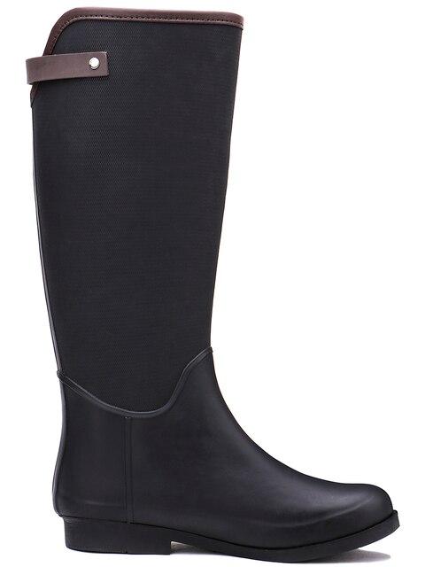 TONGPU Tall Waterproof Outdoor Rubber Rain Boots Women 251-596