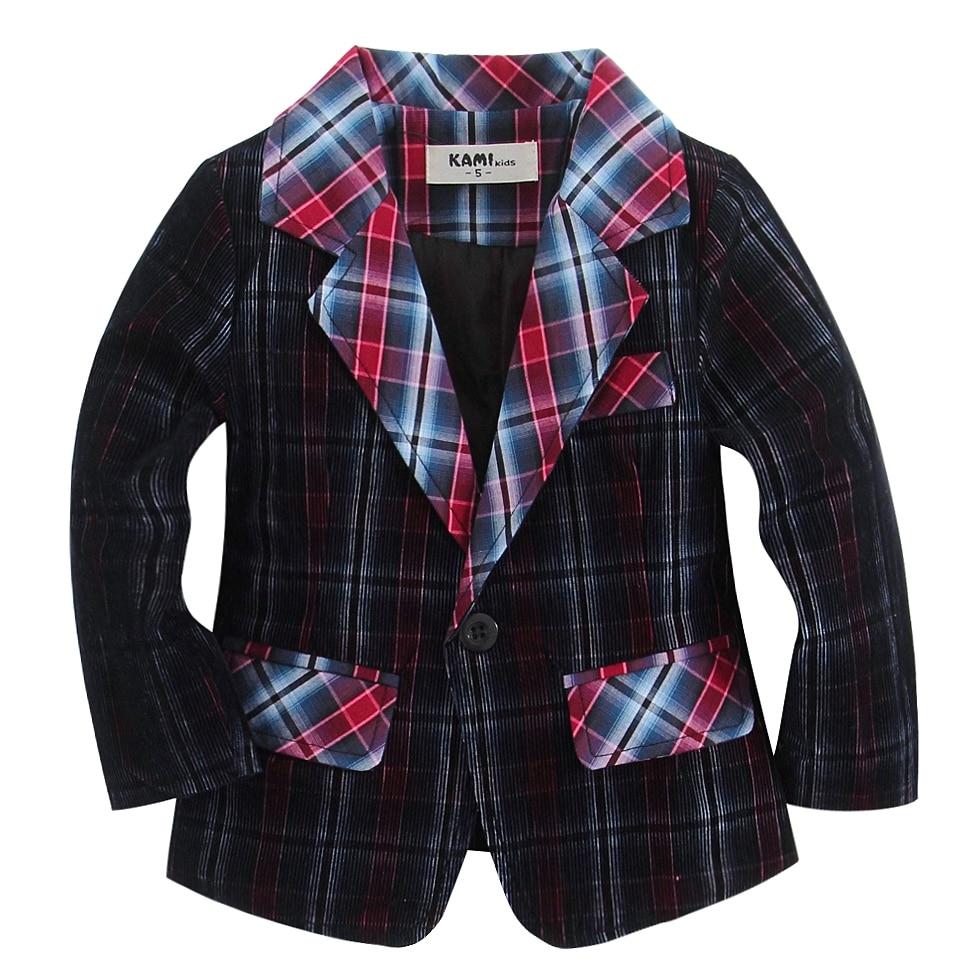 nový přírůstek měkká tkaná bavlna 100% manšestr sako - Dětské oblečení