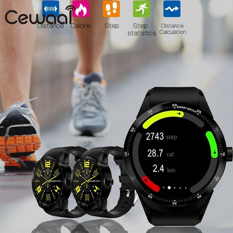 Cewaal Smartphone Bluetooth Smartwatch for Android MTK6572A Dual Core 512MB+4GB RAM GPS WiFi phonecall SMS 3G Waterproof ly l9 android 4 4 3g smartphone