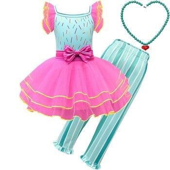 Disfraz de fantasía de Nancy para niñas pequeñas, vestido y pantalones de tutú, vestido de Carnaval para niños pequeños, vestido de fiesta, ropa de princesa para Cosplay