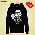 Your Empire Needs you in Star Wars Mens Long Sleeve Hoodies Mens Hip Hop Hoodies and Cute Sweatshirts Gray/Black 3xl Fashion