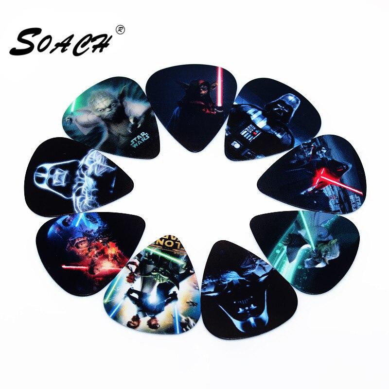 SOACH Hot PICKS 0.46mm/10pcs  Guitar Picks Thickness 0.46mm Musical Instrument Accessories