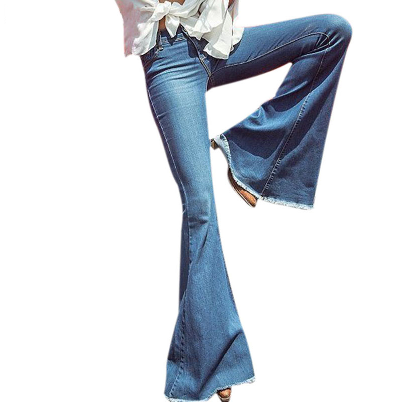 FCCEXIO Flare Jeans Womens