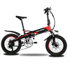 Cyrusher XF500 foldable Bicycle Folding Electric Bike Full Suspension Ebike 250W