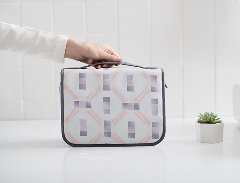 Women Travel organizer large Capacity Cosmetic Bag Waterproof Make up bag Men Bathroom Toiletry Hanging storage Bags             (12)