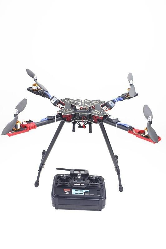 RC Quadcopter RTF T6EHP-E TX&RX +QQ Flight Control Motor ESC HMF 4 Axle Foldable Rack NO Battery Charger F11066-E naza m v2 flight control