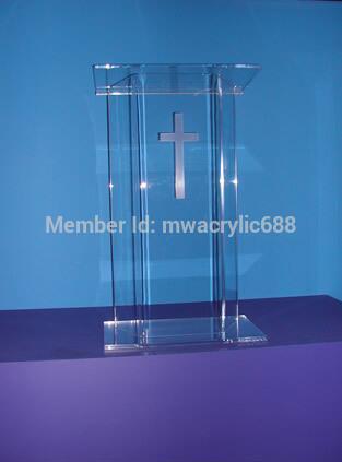 Free Shipping Acrylic Lectern Beautiful Sophistication Price Reasonable Clean Acrylic Podium Pulpit Lecternacrylic Podium
