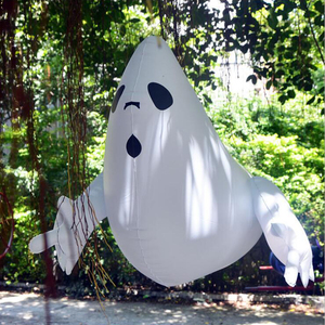 Image 1 - Halloween PVC Inflatable Animated Ghost Outdoor Yard Shopping Mall Decoration Halloween Party Supplies