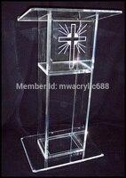 무료 배송 인기 아름다운 로고 현대 디자인 저렴한 투명 아크릴 lectern 장식|decoration design|decorative decorativedecorative acrylic -