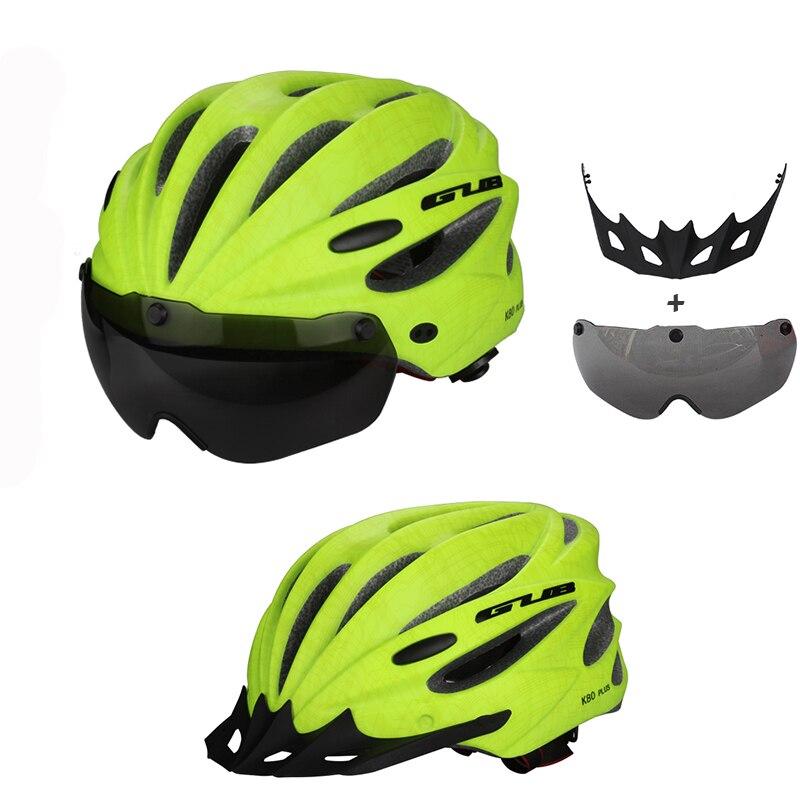 GUB High Density EPS rowerowy kask z gogle MTB Mountain rowerowe - Jazda rowerem - Zdjęcie 5