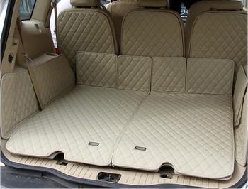 Bandeja trasera completa para maletero, estera de carga, alfombrillas protectoras para pie para Ford S-MAX SMAX 2007-2015 5/7 asientos (6 colores)