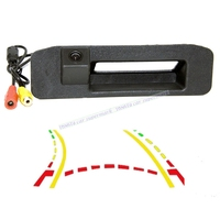 Car Trunk handle Intelligent Trajectory Tracks Rear View Camera For Mercedes Benz A Class W176 A180 A200 A260/GLK 300 X204
