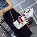 NUEVO DISEÑO de satén Arco bolso de Las Mujeres bolsa de mensajero de crossbody flap bolsas hombro de la manera regalo para las niñas