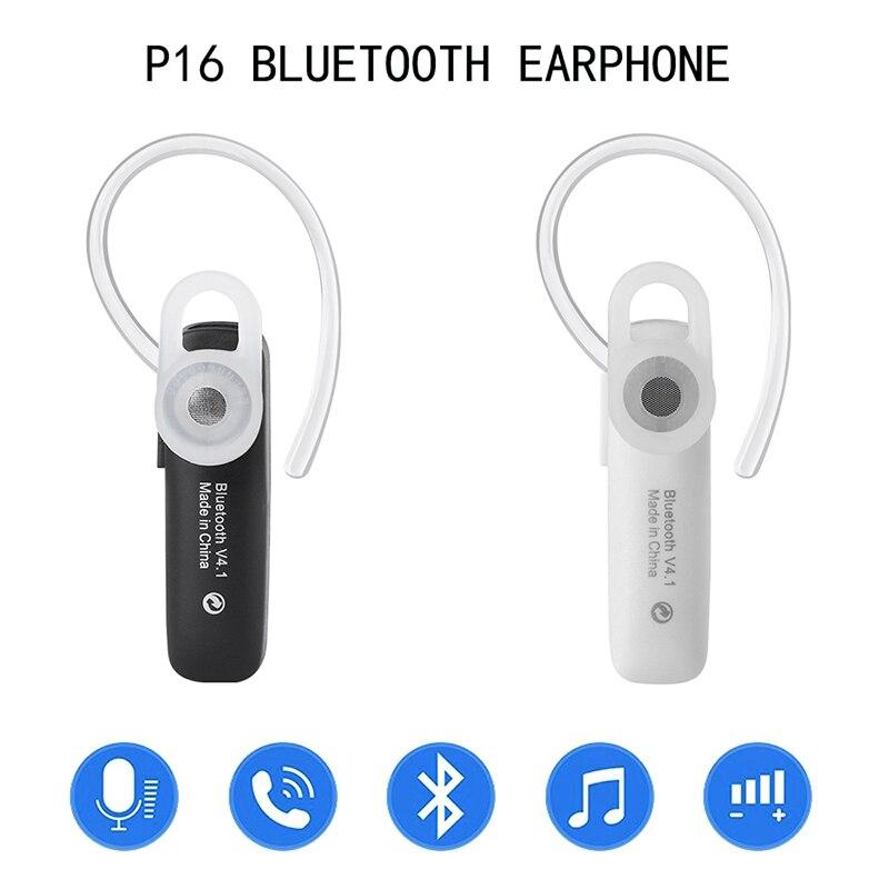 Earphones Portable Mini Wireless Headset 4.1 Stereo Handsfree Earphone for Xiaomi Samsung