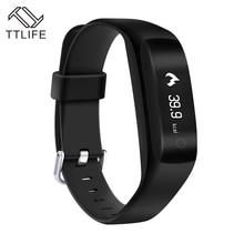 TTLIFE Бренд 2016 г. C5 GPS умный Браслет Bluetooth 4.0 смарт-браслет сердечного ритма moniter фитнес-трекер SmartBand часы