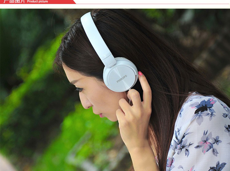 Philips SHL3060 Wired Headphone Support Musi & Movie with Stereo Bass Adjustable Headband for Xiaomi Huawei Galaxy Pho