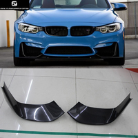 Hot sell F82 M4 Carbon Fiber Front Bumper Splitter Flap Cup wings for BMW F82 M4 car body kit 2015