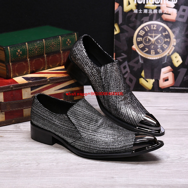 Men Shoes Luxury Brand Metallic Sliver Gold Loafers Mens Glitter Shoes Dress Wedding Formal Shoes Italian Shoes Men Leather 2017 new fashion italian designer formal mens dress shoes embossed leather luxury wedding shoes men loafers office for male