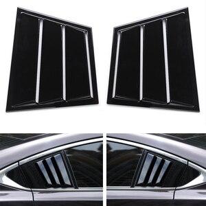 Shiny Black Car Exterior Parts