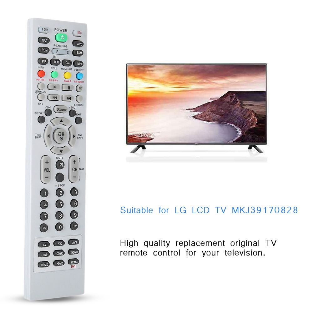 LG Replacement Service TV Remote For LCD TV MKJ39170828 10