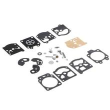 цены 1 Set New arrival Carb Carburetor Diaphragm Gasket Needle Repair Kit For WA / WT/ Walbro Series K10 / K20-WAT Echo Chainsaw INY