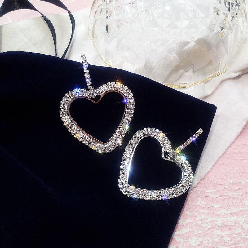LUBOV-Fashion-Korean-Style-Big-Heart-Hoop-Earrings-Luxury-Gold-Silver-Color-Rhinestone-Earring-Women-Party (2)