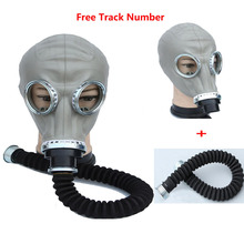 2 in 1 Safety Painting Spraying Military soviet gas mask Full Face Facepiece Respirator 40mm Dust Mask