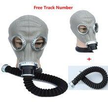 2 in 1 Sicherheit Malerei Spraying Military sowjetischen gasmaske Volle Gesicht Gesichtsmaske Atemschutz 40mm Staubmaske