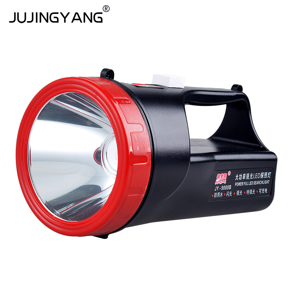 9000B light, long range charge, waterproof Mini searchlight, home outdoor lighting, portable flashlight 9000
