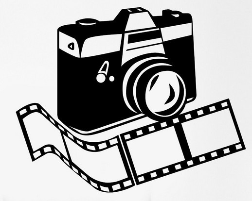 New Studio Film Vinyl Wall Decal Photo Camera Photographer
