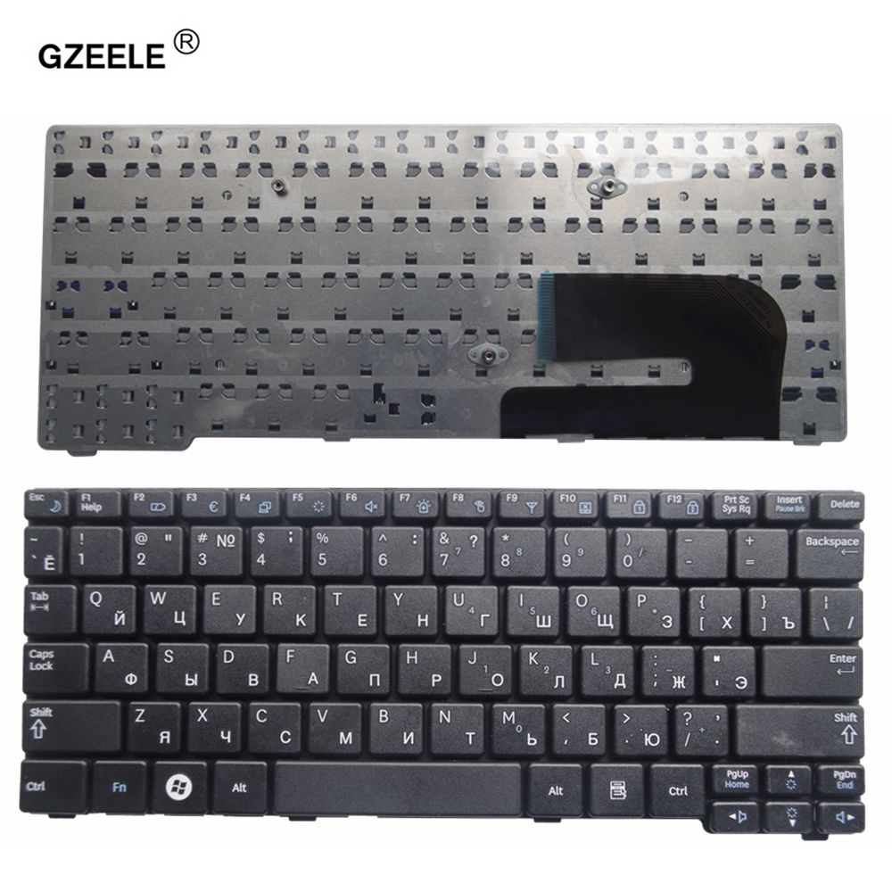 GZEELE NEW russian keyboard for Samsung N150 plus N143 N145 N148 N158 NB30 NB20 N102 N102S Laptop Keyboard black RU layout new new laptop keyboard for samsung np900x3a 900x3a ru russian layout