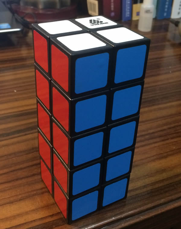 Best Hot WitEden 2x2x5 Cube And Qiyi Mofang Valk 3 Power 3x3x3 Puzzle Magic 3x3 Speed Cube Learning Education Toys Drop Shopping