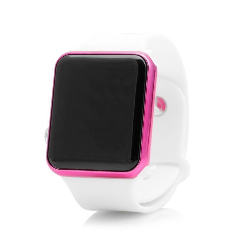 Fashion Silicone LED Men Womens Sport Watch Touch Digital Bracelet Wrist Watches Gai