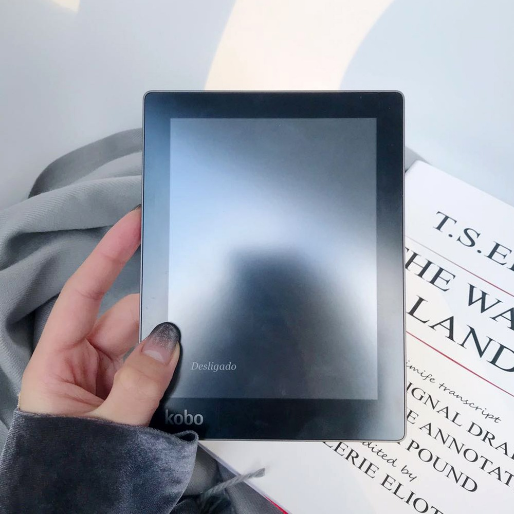 E-book Kobo Aura ebook lecteur e-ink 6 pouces résolution 1024x758 N514 intégré avant lumière e livre lecteur WiFi 4 GB mémoire