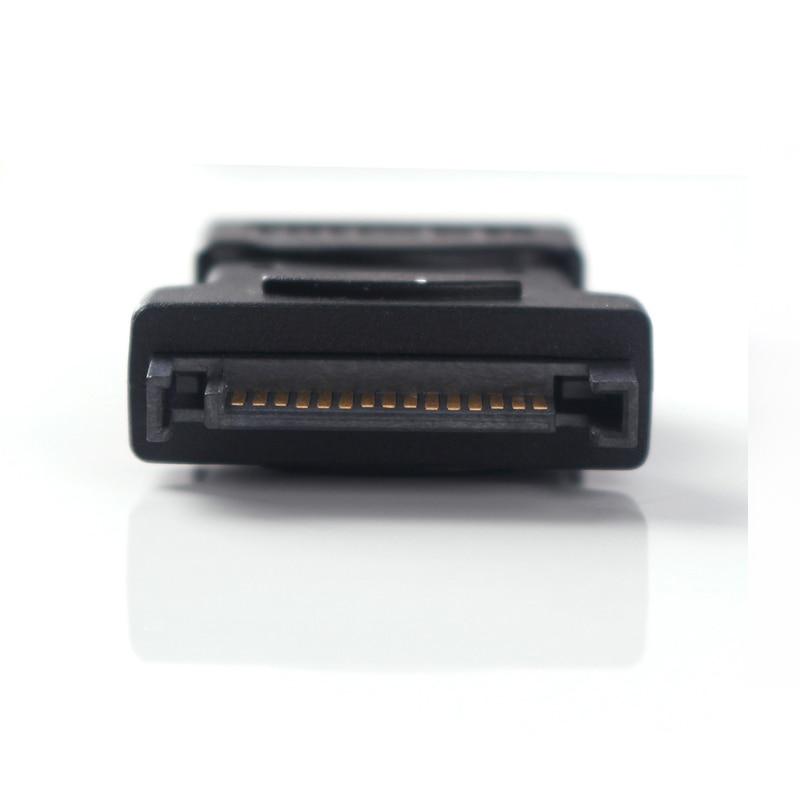 ULT-Best 2 Pack 15Pin Sata Serial ATA macho a Molex IDE 4 pines - Cables de computadora y conectores - foto 3