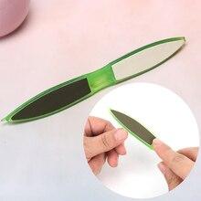 1 шт пилочка-Полировка для ногтей блок пилка для ногтей треугольная трехмерная полировка и шлифовка буфер для маникюра педикюра Инструменты для дизайна ногтей