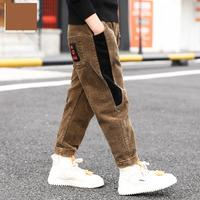 Boys Pants 2019 Spring Autumn Kids Clothes Teenagers Children Sport Loose Trousers Toddler Boys Joggers 6 7 8 10 11 12 13 14 15