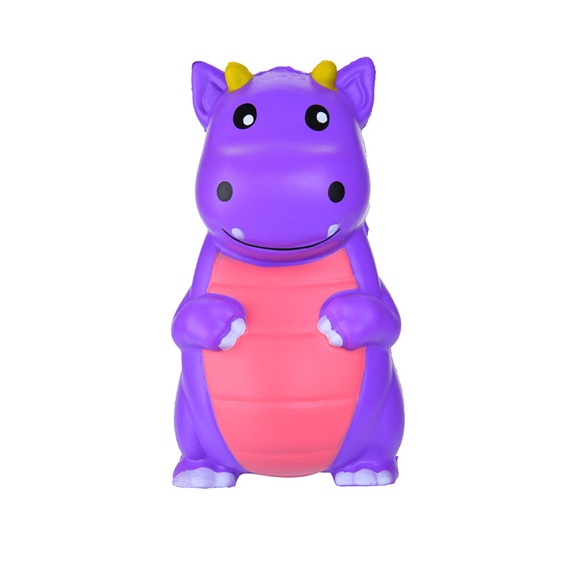 Lovely Cartoon Dinosaur Stress Reliever Scented Slow Rising Decompression Toys  Antistress Squish Toys For Kid Child A1