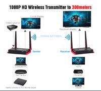 5 ГГц HDMI Беспроводной передатчик двойной WI FI Телевизионные антенны Беспроводной HDMI Трансмиссия Extender 300 м HD Беспроводной HDMI видео отправител