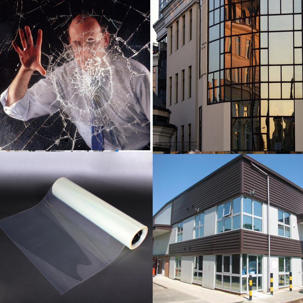 4mil 1x 15m security and impact resistance for terrorist bombings, hurricanes, smash crimes, earthquakes,industrial explosion  недорого