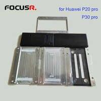 Para máquina ymj usando unbent cabo flexível oca alinhamento posição molde de estratificação lcd para huawei p20 pro p30 pro conjuntos de ferramentas de reparo