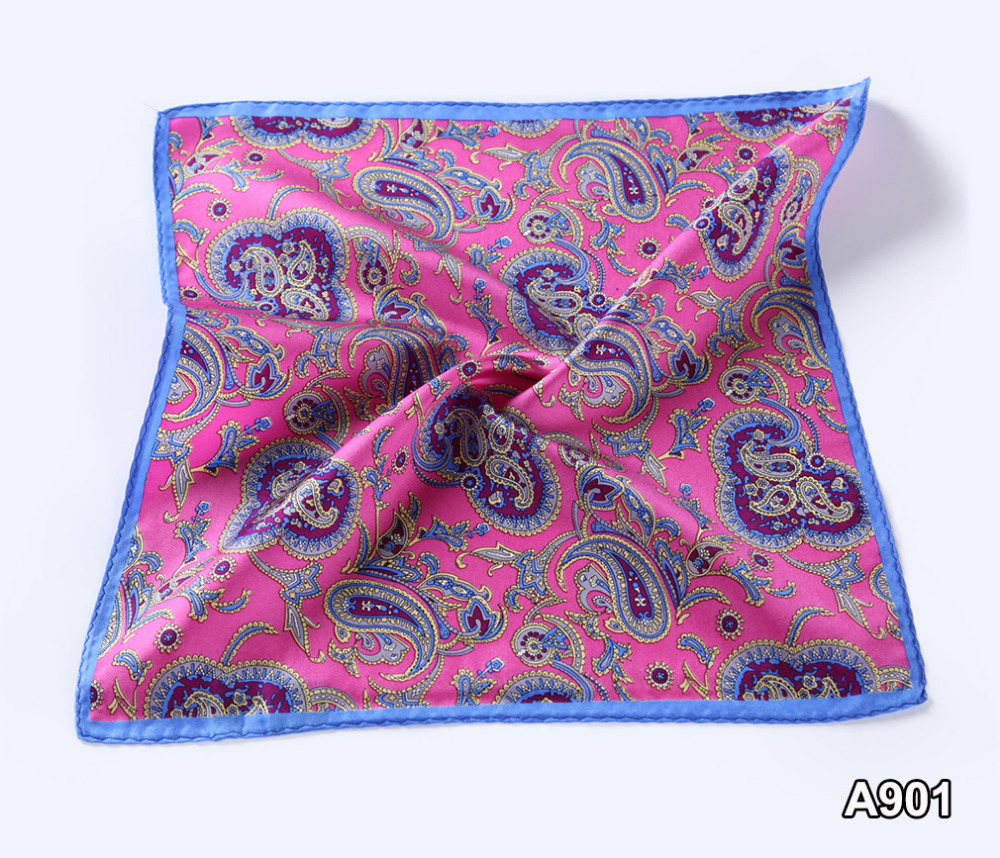 Classic Men/'s Handkerchief Pocket Square Polka Dot Wedding Chest Tower Hanky